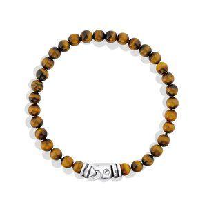 Spiritual Beads Bracelet with Tiger's Eye alternative image