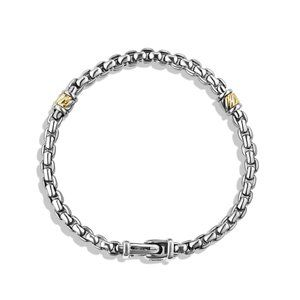 Two-row Chain Bracelet with 18K Gold alternative image
