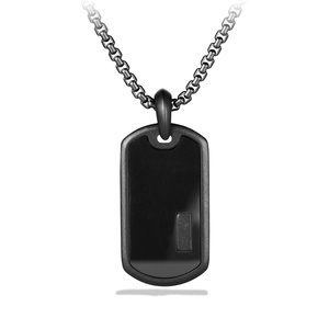 Exotic Stone Tag with Black Onyx