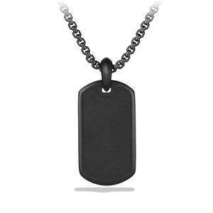 Exotic Stone Tag with Black Onyx alternative image