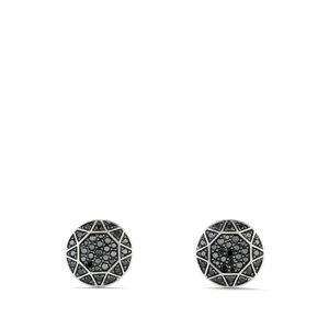 Pavé Cufflinks with Black Diamonds alternative image