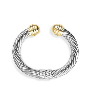 Cable Classics Collection® Bracelet with 14K Gold alternative image