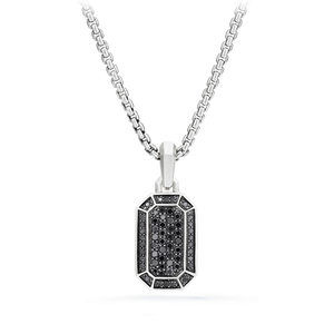 Streamline® Pave Amulet with Black Diamonds