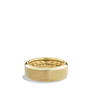Streamline Band Ring in Gold
