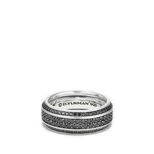 Streamline® Band with Pavé Black Diamonds