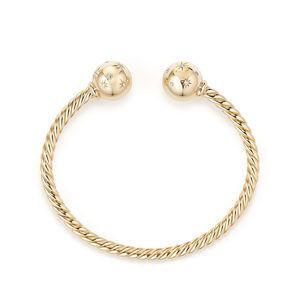 Solari Bead Bracelet with Diamonds in 18K Gold alternative image