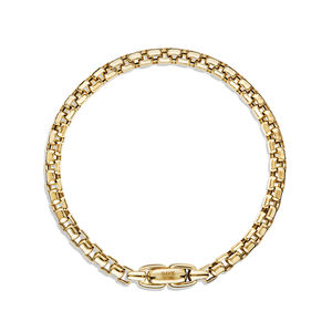 Box Chain Bracelet in Gold alternative image
