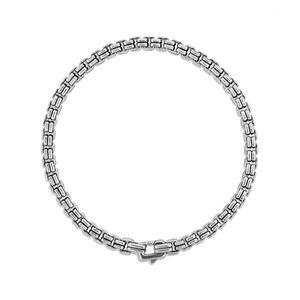 Double Box Chain Bracelet alternative image