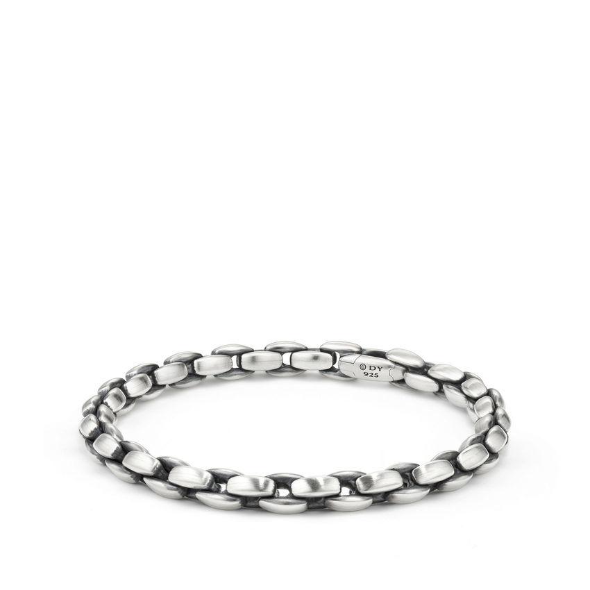 Elongated Box Chain Bracelet, 6mm