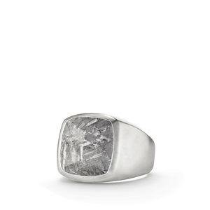 Meteorite Signet Ring