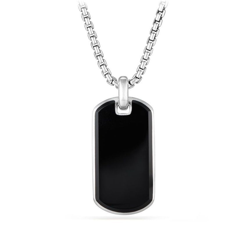 Streamline® Tag with Black Onyx