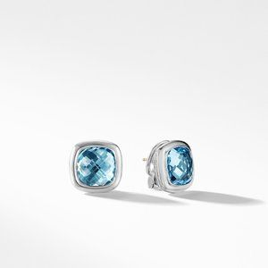 Albion® Stud Earrings in Blue Topaz