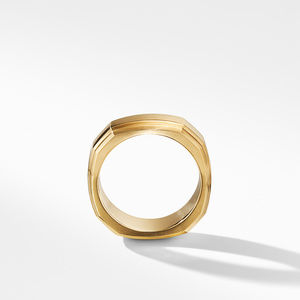 Deco Band Ring in 18K Gold alternative image