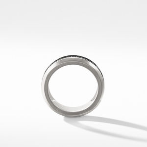 Streamline® Band Ring with Black Diamonds alternative image