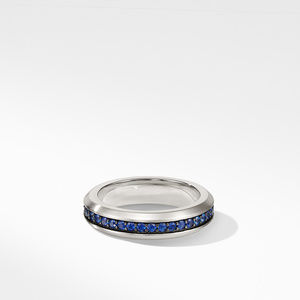 Streamline® Band Ring with Sapphires