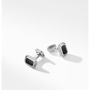 Deco Cufflinks with Black Onyx alternative image