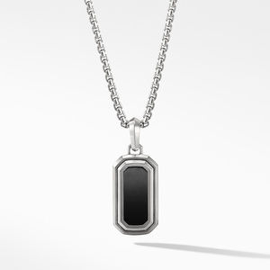 Deco Amulet with Black Onyx