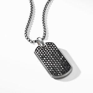 Streamline® Tag with Black Diamonds alternative image