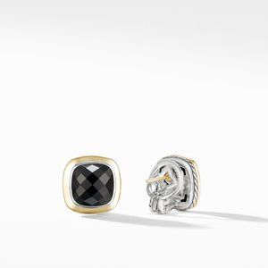Albion® Stud Earrings with 18K Gold and Black Onyx alternative image