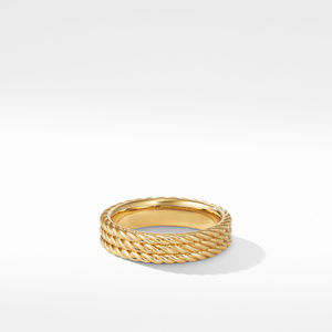 Maritime® Rope Band Ring in 18k Yellow Gold