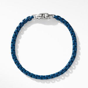 Box Chain Bracelet in Blue alternative image