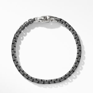 Box Chain Bracelet in Grey alternative image