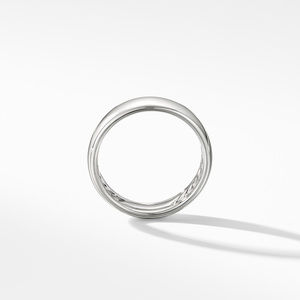 DY Classic Band Ring in 18K White Gold alternative image
