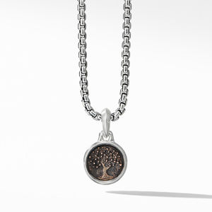 Extra-Small Tree of Life Amulet with Bronze