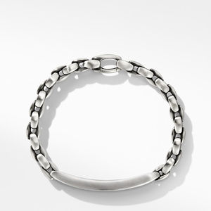 Chain ID Bracelet with Black Diamonds alternative image