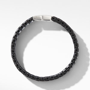 Chevron Woven Bracelet in Black Titanium alternative image