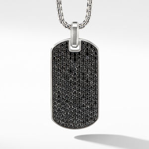 Streamline® Tag with Black Diamonds