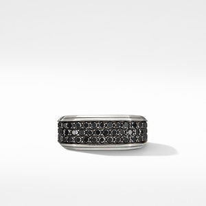 Roman Signet Ring with Black Diamonds alternative image