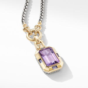 Novella Pendant with Amethyst and 18K Yellow Gold alternative image