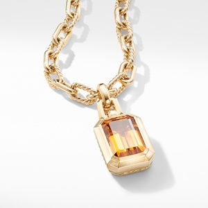Novella Pendant in 18K Yellow Gold with Madeira Citrine alternative image