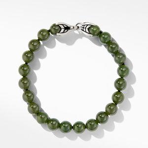 Spiritual Bead Bracelet with Nephrite Jade alternative image