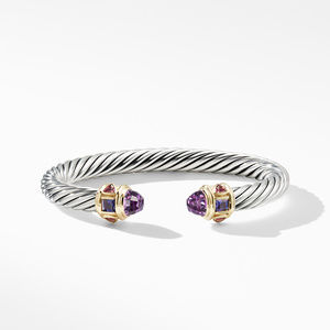 Renaissance Bracelet with Amethyst and 14K Yellow Gold alternative image