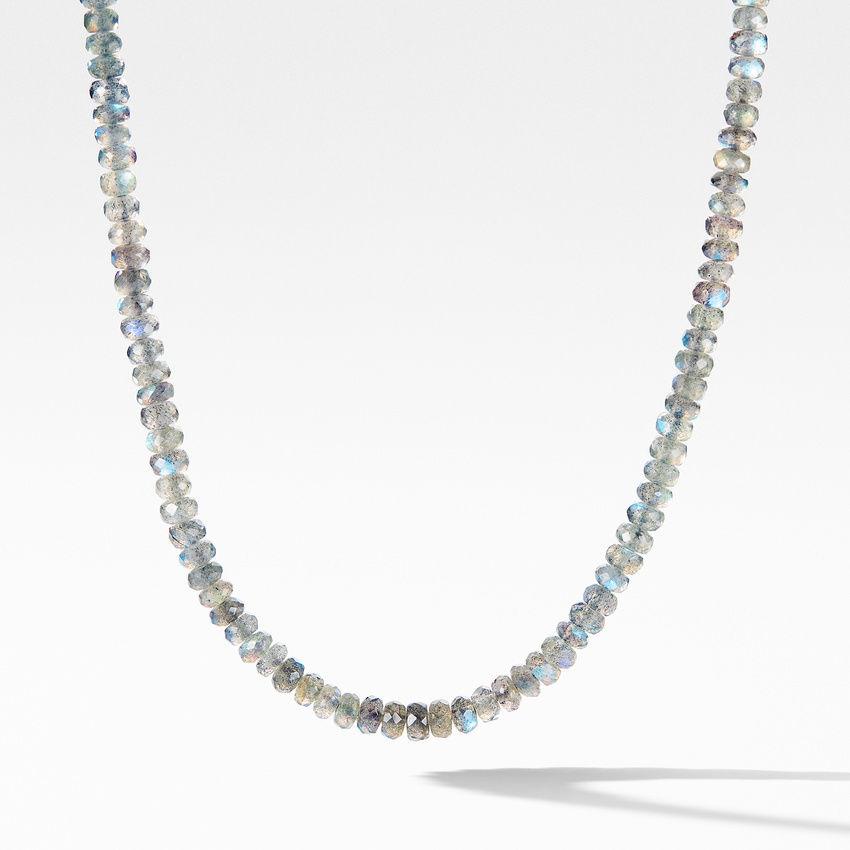 Spiritual Bead Necklace with Labradorite