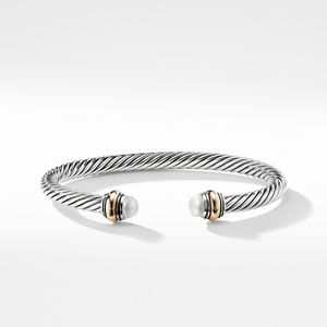 Cable Classic Bracelet with Pearl and 14K Gold alternative image