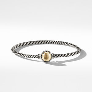 Chatelaine Bracelet with Gold Dome and 18K Gold alternative image