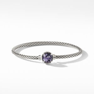 Chatelaine Bracelet with Lavender Amethyst over Hematine alternative image