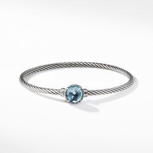 Chatelaine Bracelet with Blue Topaz alternative image
