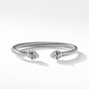 Renaissance Bracelet with Diamonds in Silver, 5mm alternative image