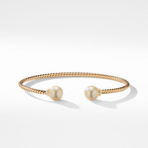 Solari Bead Bracelet with South Sea Golden Pearl in 18K Gold alternative image