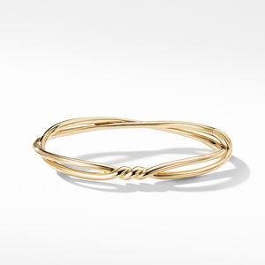 Continuance Center Twist Bracelet in 18K Gold alternative image