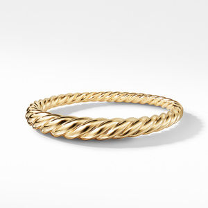 Pure Form Cable Bracelet in 18K Gold alternative image