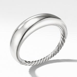 Pure Form Smooth Bracelet, 17mm