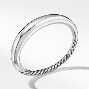 Pure Form Smooth Bracelet, 9.5mm