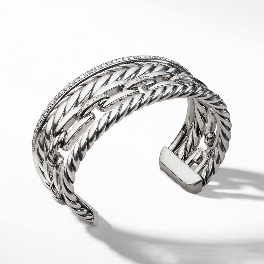 Wellesley Link™ Cuff with Diamonds