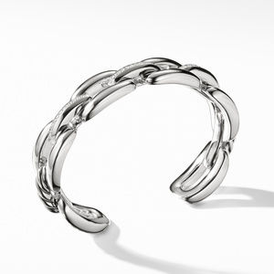 Wellesley Cuff with Diamonds, 14mm