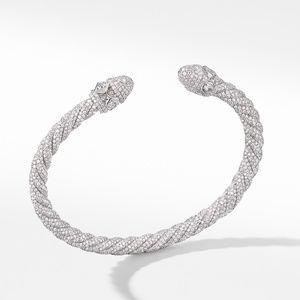 Renaissance Diamond Bracelet in 18K White Gold